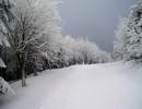 Góry Orlickie zimą