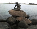 Kopenhaga i Oresundsbroen